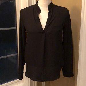 RO & DE black S long sleeve blouse Nordstrom rack